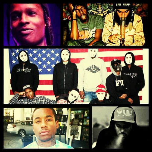 they stay in my ears #asapmob #flatbushzomhies and #schoolboyq