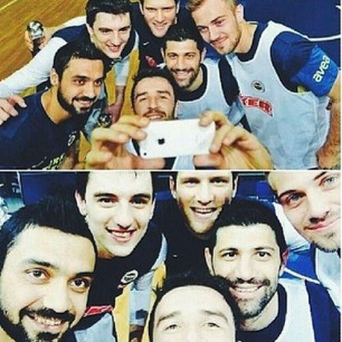 Selfie Basketballplayer Footballplayer  Fenerbahce