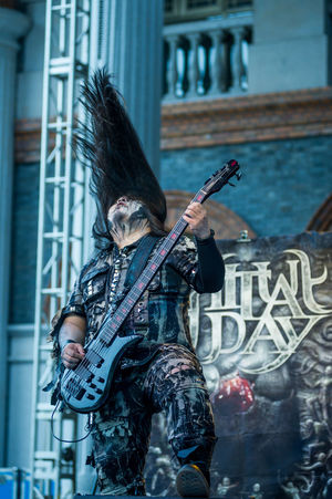 施教日乐队 Ritual Day playing at WOA Metal Battle 2016 Asian Music Asian Musician Chinese Muscian Chinese Music Concert Concert Photography Guitar Guitarist Guitarist Rock Music Heavy Metal Live Music Music Musician Ritual Day Rock Music