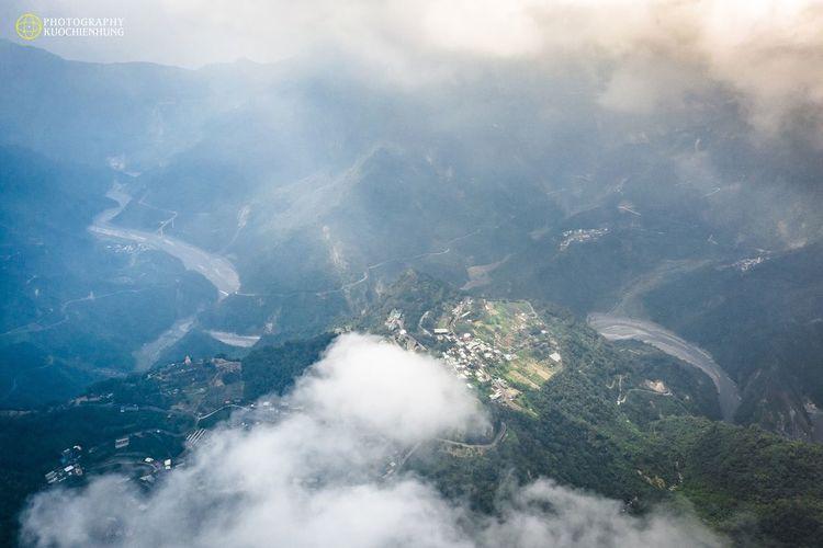 。台灣,屏東,霧台。 Scenics - Nature Nature No People Cloud - Sky Beauty In Nature City Environment