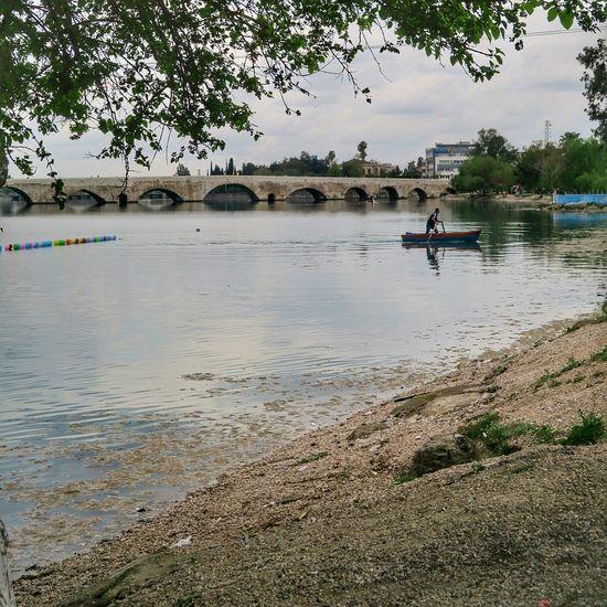 Adana Travel Hisroria Stonebridge Bridge River Turkey Roman Empire