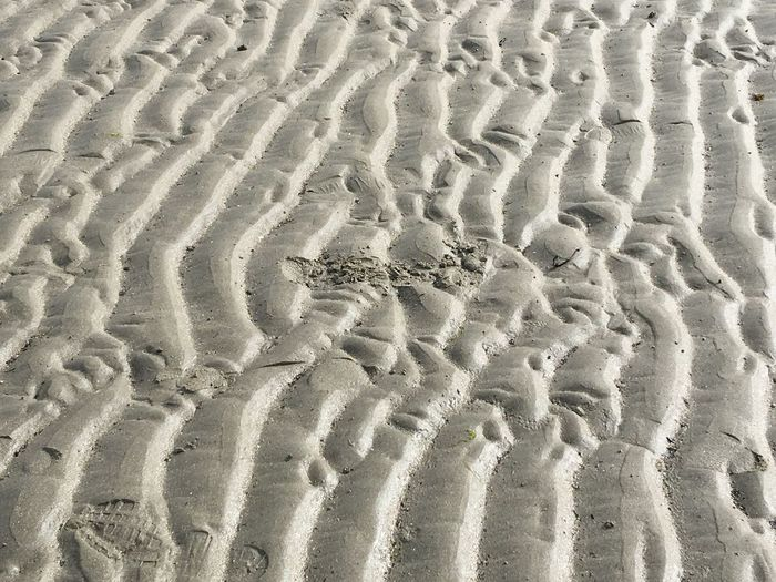 Sand Beach Full Frame Backgrounds Nature Pattern Sand Dune No People Shore Track - Imprint Outdoors Day Tire Track Arid Climate Desert Beauty In Nature Close-up