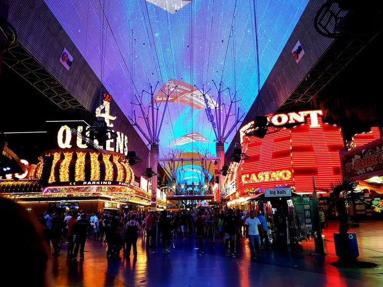 Travel Bucketlist Las Vegas Freemont Street Old Las Vegas Lights Casino USA USAtrip USA Photos NEVADA, USA!♡