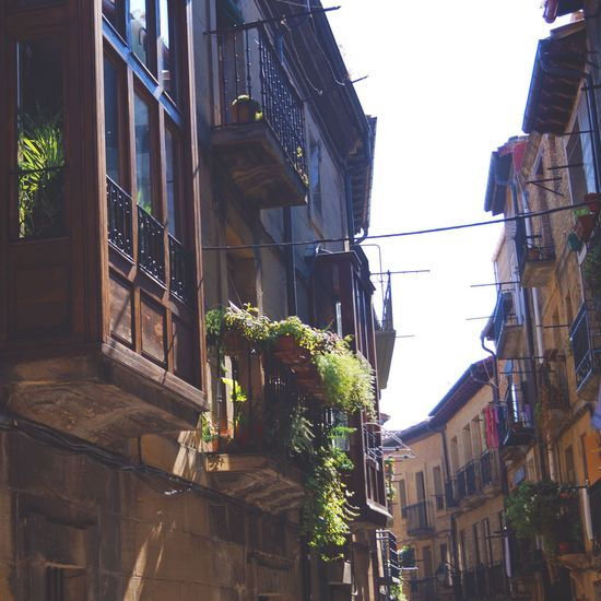 Laguardia Alava SPAIN Basque Country BasqueCountry Village MedievalTown Old Buildings Old Building Exterior