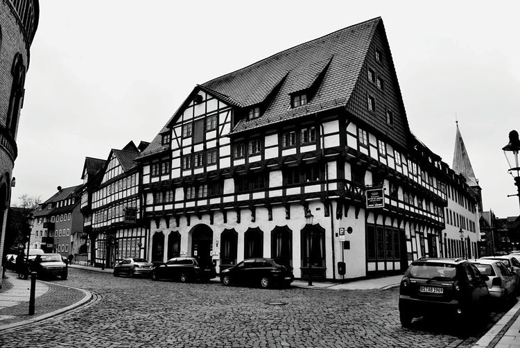 In the old town Hotel Medieval Medieval Architecture Framed House Brunswick Braunschweig