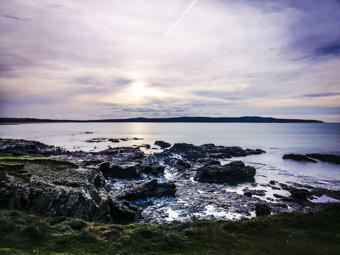 magical Ways Of Seeing Boxing Day Godrevy Cornwall Winterdays Exploring Naturelovers Wallpaper Landscape_lovers Seascape Photography Water Sea Sunset Beach Low Tide Blue Awe Reflection Sun Seascape Coast Rocky Coastline Romantic Sky Atmospheric Mood Coastline Ocean Calm 2018 In One Photograph My Best Photo