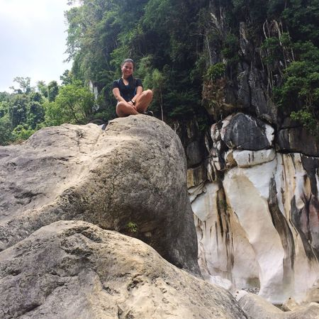 Lost In The Landscape Philippines Tree Nature Rock - Object TinipakRiver Rock Formation