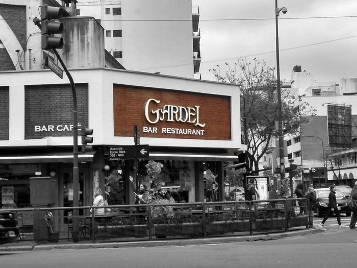 Gardel City Communication Old-fashioned Text Façade Cafe Architecture Building Exterior Built Structure