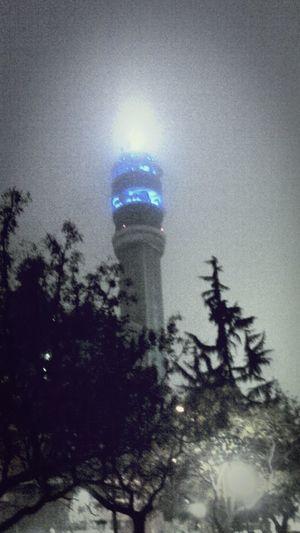 Noche de Nieblina en Santiago De Chile