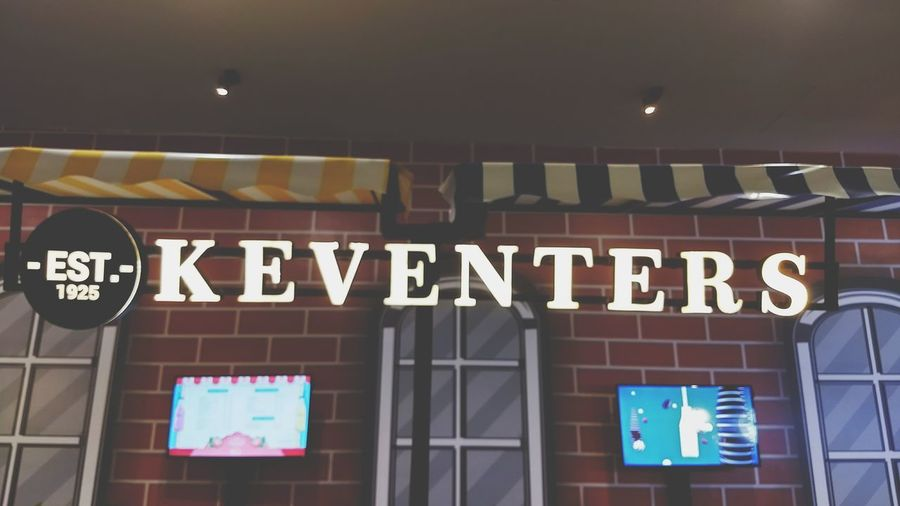 keventers Text Business Finance And Industry Store Neon Illuminated No People Day