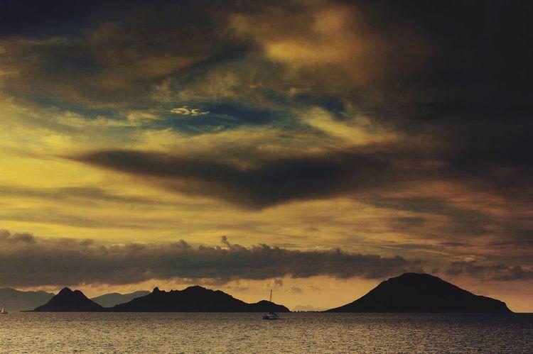 Sunset Sunset_collection Island Sea Seascape