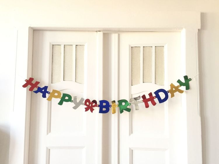 Celebration Choice Collection Colorful Day Decoration Hanging Happy Birthday! Large Group Of Objects Man Made Object Multi Colored No People Studio Shot Variation Various White Background Window