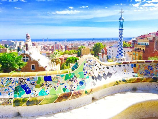 Parkguell Barcelona Gaudi