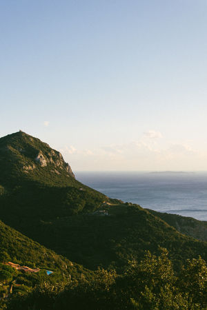 Sight point Beauty In Nature Day Horizon Over Water Idyllic Landscape Mountain Nature Nikon D5200 Nikonphotography No People Outdoors Scenic Lookout Scenics Sea Sky Tranquil Scene Tranquility VSCO Vscofilm Vscogood Water