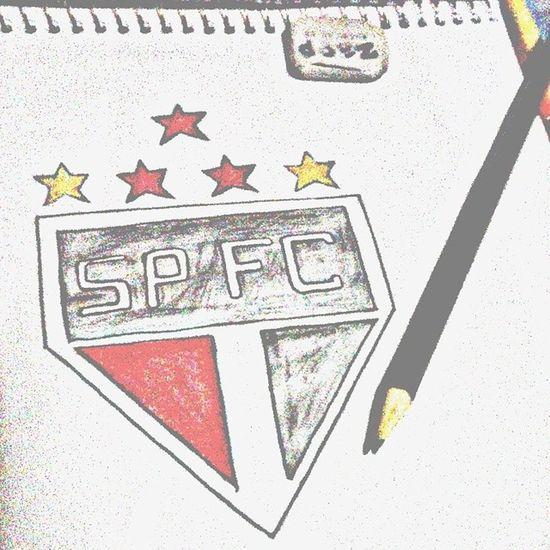Desenho Paixão SOBERANO SPFC