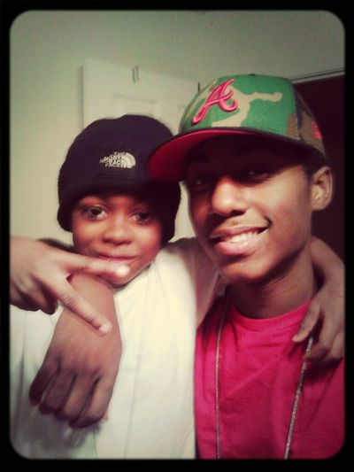 Me nd the little cuzzo