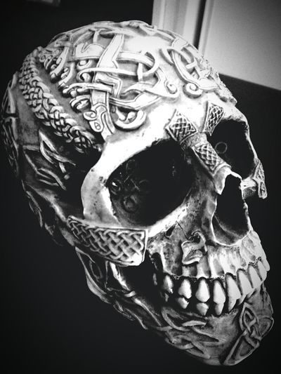 To be or not to be... Skull and bones is the question Indoors  Human Body Part Close-up Human Skull Halloween Day People