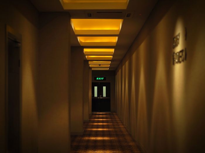 Exit Sign The Way Forward Corridor Architecture