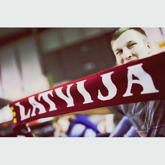 Latvia Floorball Wfcq Valmiera Fans