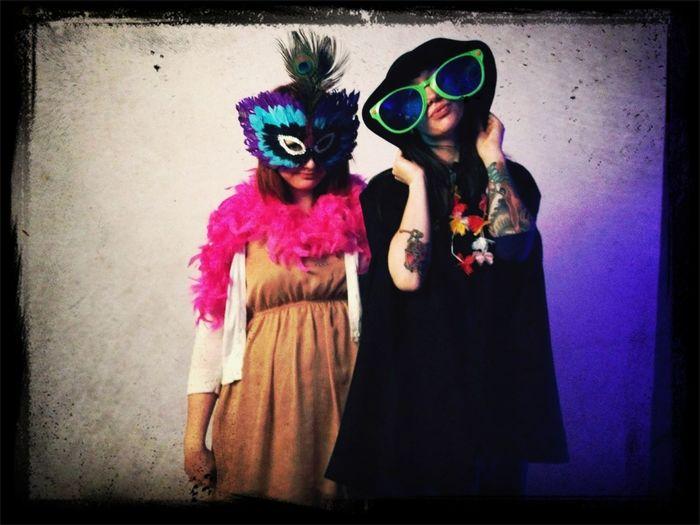 Photo Booth Fun At AJs Wedding Last Night.