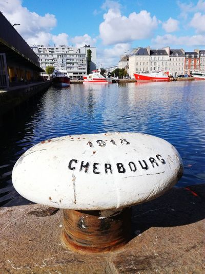 Water City Outdoors Harbor Cherbourg Boat Ship Detail Sea Scenics Calm Urban