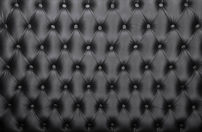 Black luxury capitone Chesterfield style tufted buttoned fabric textile leather pattern background Background Bed Black Capitone Chesterfield Decor Decoration Design Fabric Furniture Headboard Interior Leather Luxury Pattern Premium Retro Rich Sofa Style Textile Texture Upholstery Wall