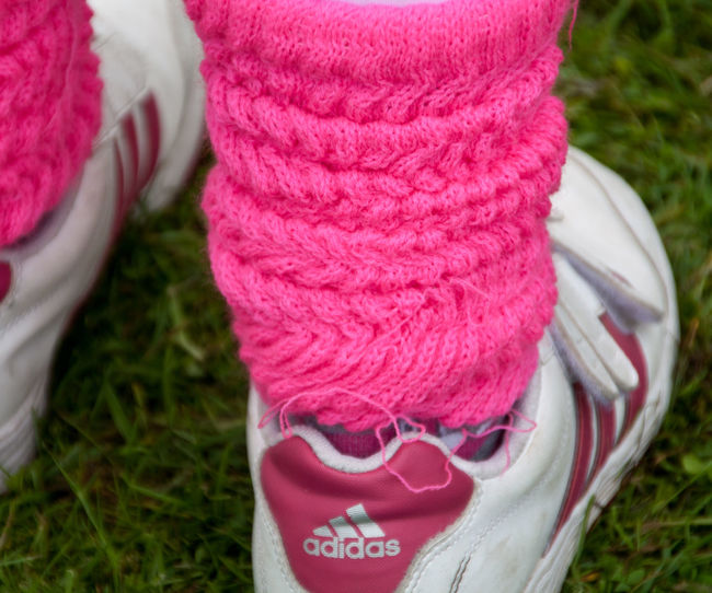 Cancer Charity Feet Foot Learning Pink RaceForLife Sneakers Socks Trainers Wool