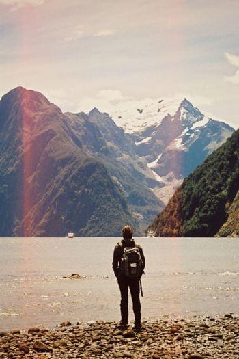 Stranger Standing Enjoying Life Inspire And Be Inspired✨