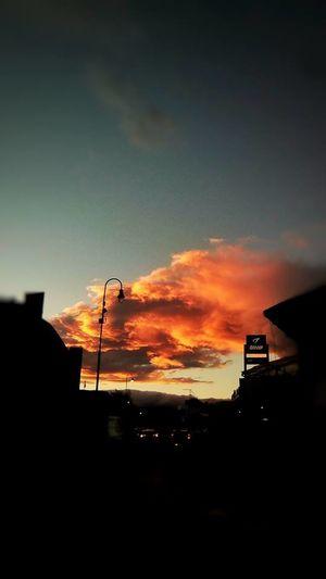 Sunrise Sunrise_sunsets_aroundworld Sunrise_Collection Sunset Sky Cloud - Sky Orange Color Beauty In Nature No People