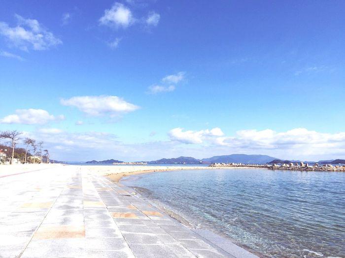 Megi-island Island Kagawa,Japan Sea Seaside Nobody