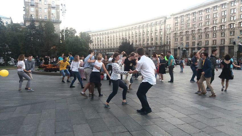 independent dancing