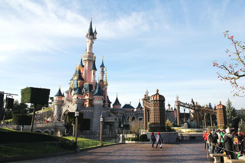Disneylandparis Disneyland Paris Disneyland Disneyparis Disney Land Disney Cinderella Castle Cinderellascastle Disney Castle Castle