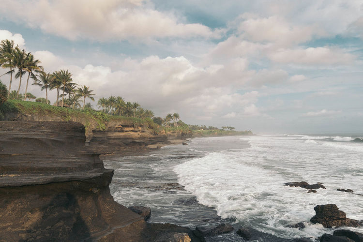 Tanah Lot bali Bali Bali, Indonesia Beauty In Nature Cloud - Sky Day Nature No People Outdoors Scenics Sea Sky Water Wave Been There.
