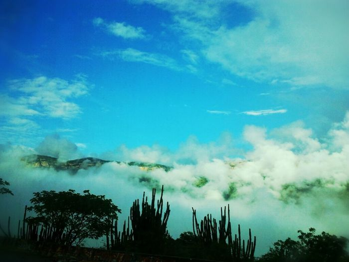 Nubecitas Colombianas ;) Clouds And Sky Nature Landscape Santander-Colombia