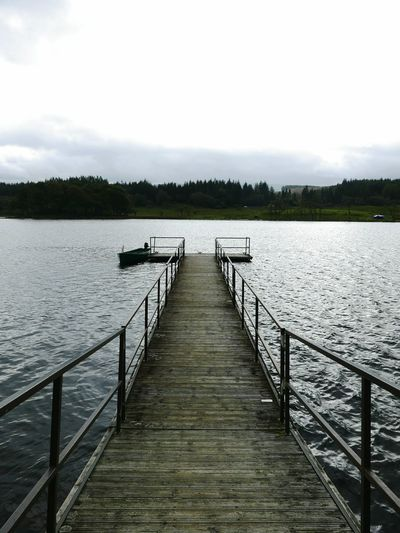 Pier Lake Water Tranquility Tranquil Scene Outdoors Jetty Scenics Travel Destinations No People Scotland Lumix Lx100 EyeEm Selects Canoe Day