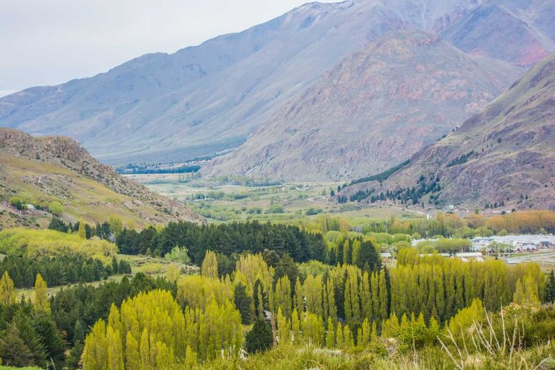 Landscape near to Esquel, Chubut, Argentina. Agriculture Day Flower Hiking Horizontal Landscape Mountain Nature No People Outdoors Rural Scene Scenics Springtime