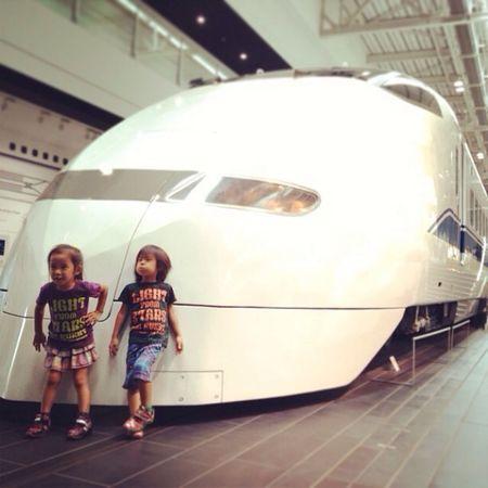 Children 双子 Twins 新幹線