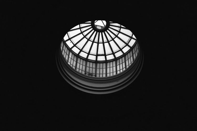Low Angle View Of Cupola At Historic Building