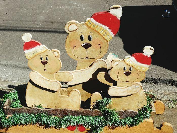 Toys Bears Family Christmas Decoration Santa Claus Gramado, Brazil Gramado/RS Serra Gaúcha