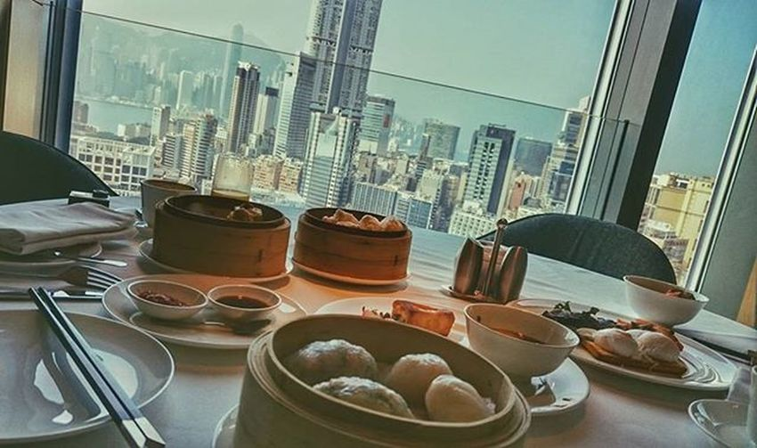 Breakfast. Dim Sum. 28th floor. Great way to start the end of the year! Looking forward to dinner. Got something special up our sleeve. 😁 HongKong Icon NYE