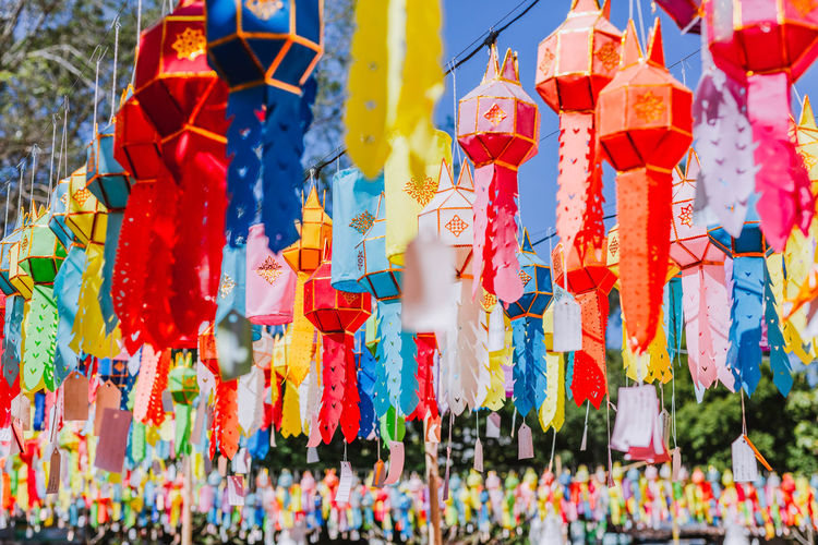 Colourful lantern. Multi Colored Hanging Day No People Focus On Foreground Large Group Of Objects Decoration Creativity Outdoors Festival Lantern Lanterns Colorful Backgrounds Culture Chinese Lantern