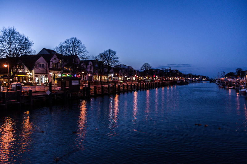 Outdoors Water Sea Night Blue Harbour Ships Harbour At Night Evening Light Evening View
