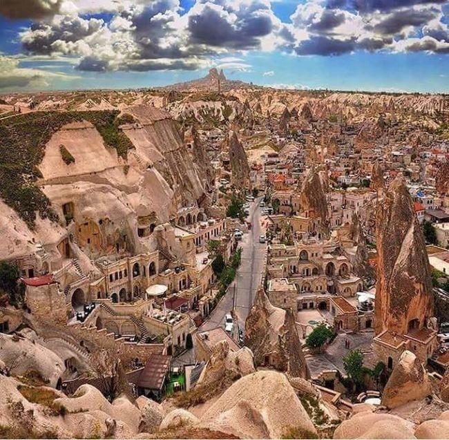 kapadokyaKapadokya,Göreme,Turkey Residential Building Cloud - Sky Turkey♥ Türkiye