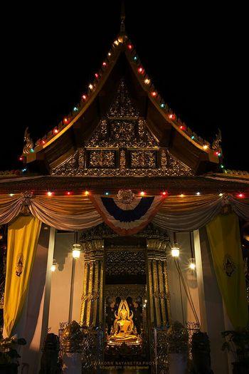 Phra Buddha Chinnart, Wat Phra Si Rattana Mahathat, Phitsanulok, Thailand
