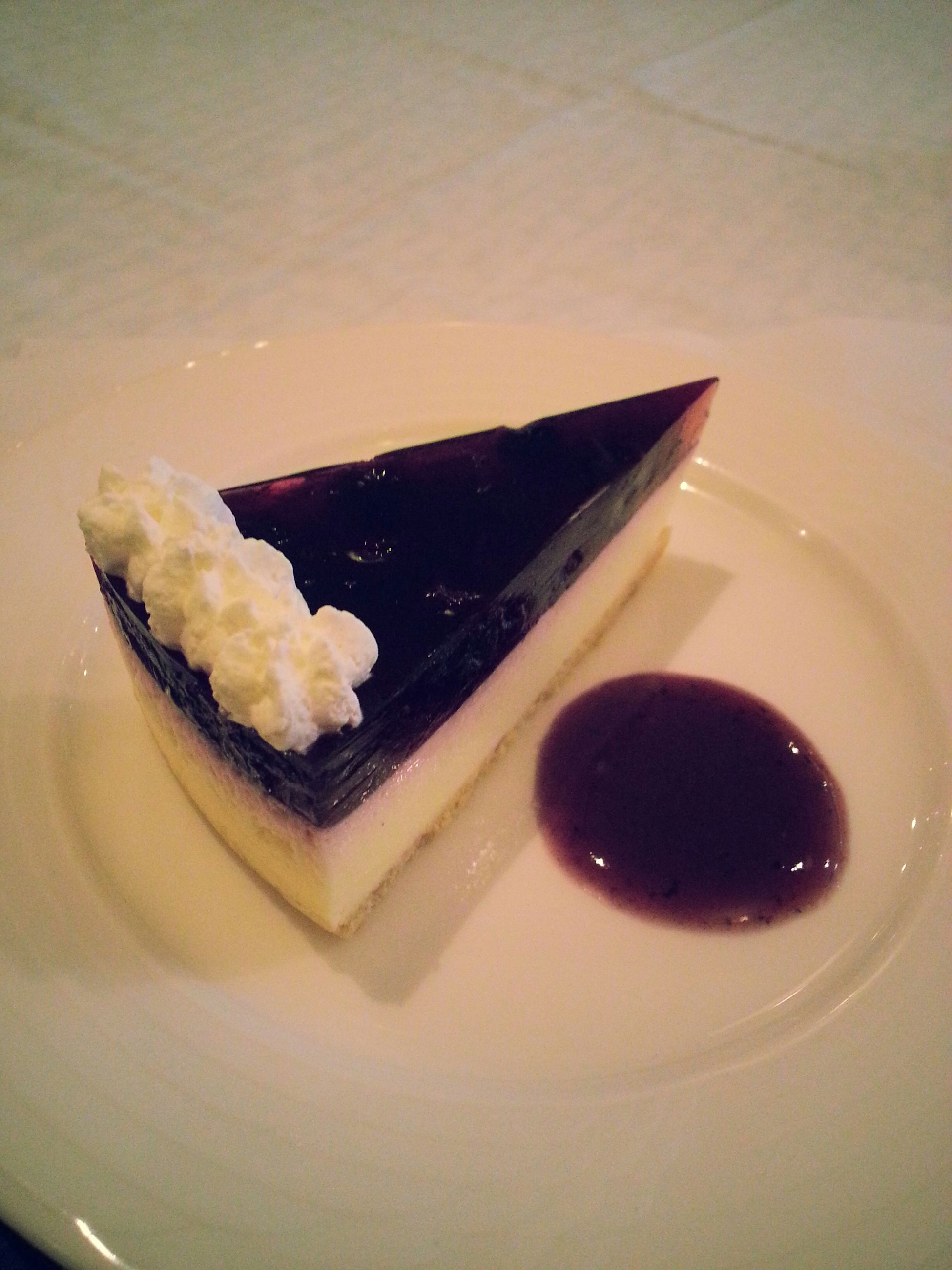 food and drink, indoors, food, sweet food, freshness, dessert, ready-to-eat, still life, plate, indulgence, table, cake, unhealthy eating, close-up, temptation, high angle view, serving size, chocolate, fork, no people