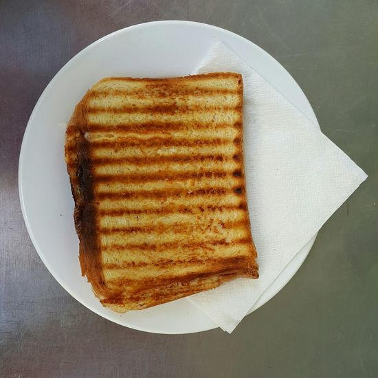 Toasted Sandwich is Simple and Delicious Fast Food Time For Breakfast