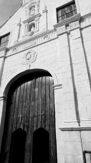Exterior of historic church