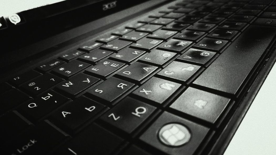 Technology Connection Close-up Text Communication Computer Keyboard Computer Keyboard Bulgarian Keyboard Computer KEYBOARD CLICK Keyboard Button Keyboardphoto Keyboard Instrument Blackandwhite Black And White Letters