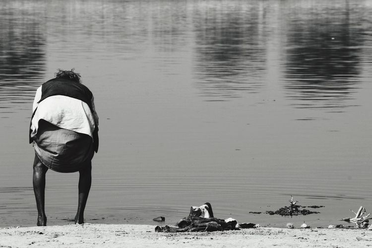 Water India Yamuna Vrindavan Canonphotography Canon Beauty In Nature