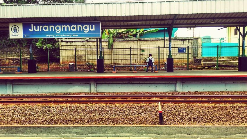 Alone at station First Eyeem Photo